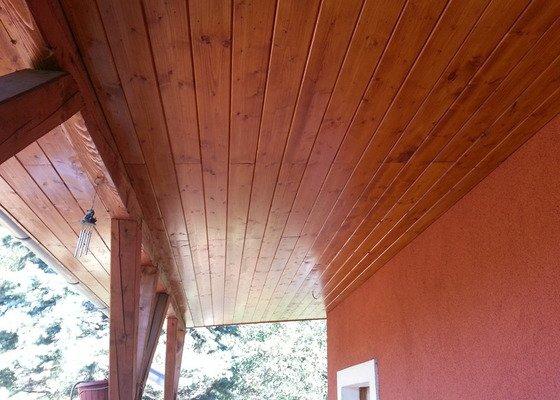 Podbytí krovů cca 40m2