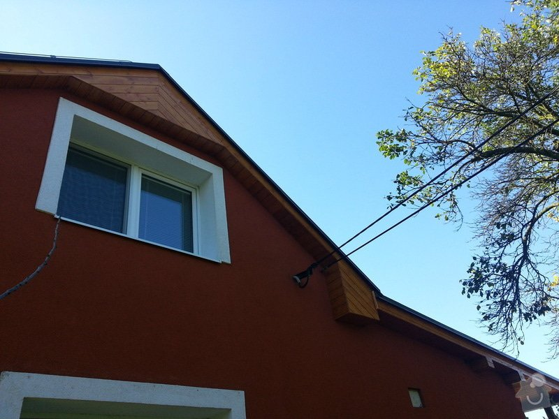Podbytí krovů cca 40m2: 20130930_142228