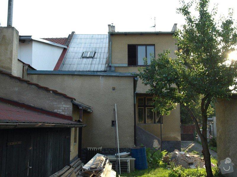 Zateplení ploché střechy cca 28m2 a stěn objektu cca 55m2: P1268229