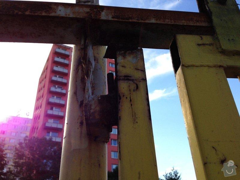 Repase vjezdových vrat na parkovišti: IMG_0716
