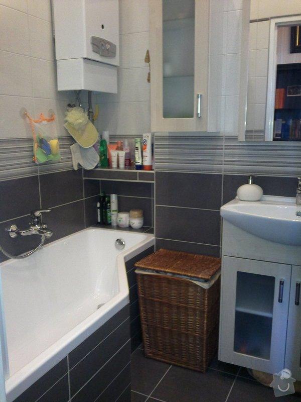 Rekonstrukce koupelny, wc a rozvod elektroinstalace pro novou kuchyňskou linku: 280920131618