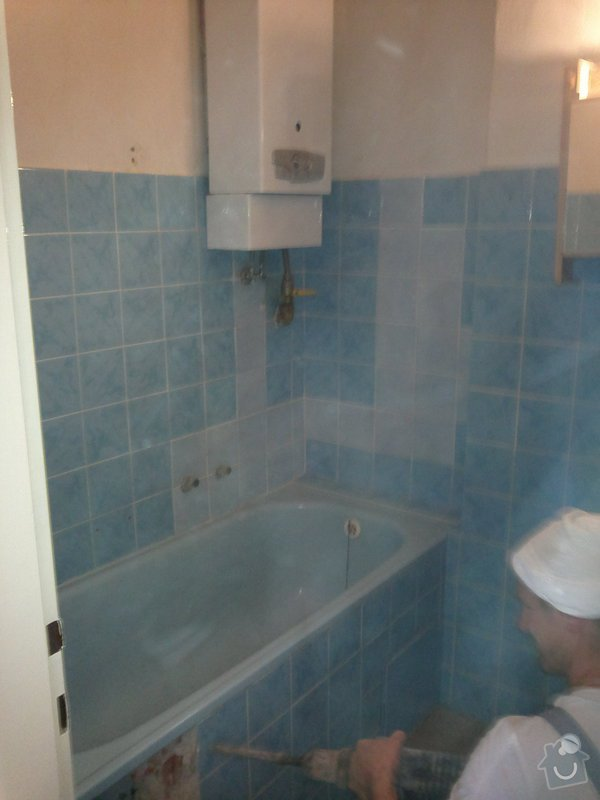 Rekonstrukce koupelny, wc a rozvod elektroinstalace pro novou kuchyňskou linku: 040920131588