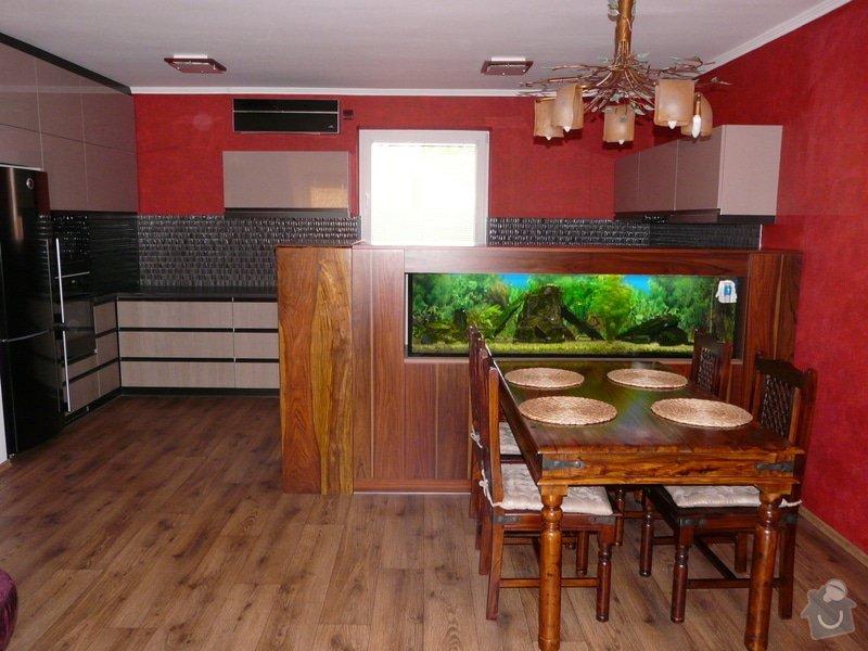 Kuchyňská linka a skříň na akvárium: 01