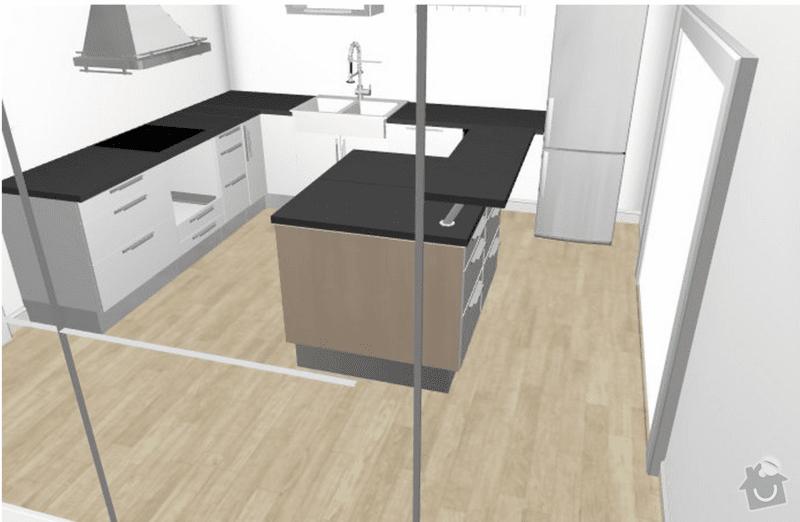 Kuchyňská linka: navrh_kuchyne2