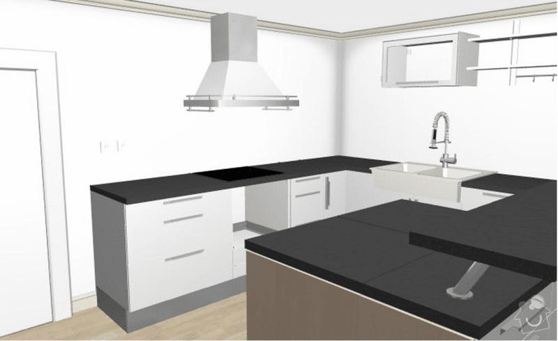 Kuchyňská linka: navrh_kuchyne