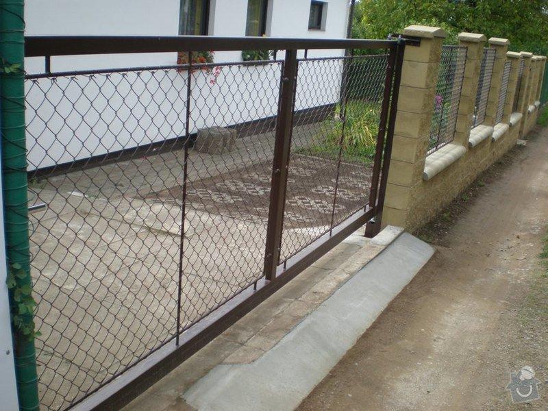 Samonosná brána, branka , 6ks plot.polí. : P9220455