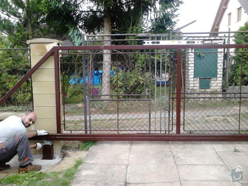 Samonosná brána, branka , 6ks plot.polí. : IMG-20130828-WA0001