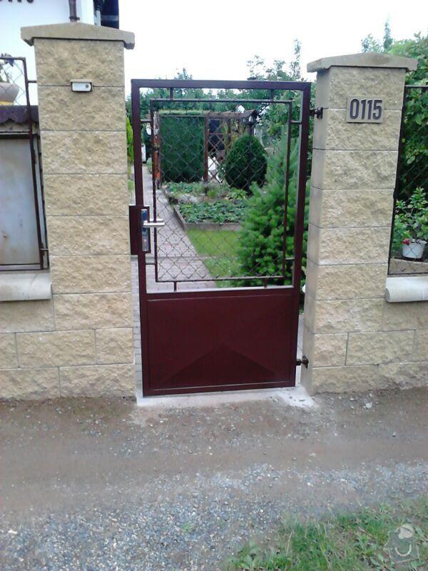 Samonosná brána, branka , 6ks plot.polí. : IMG-20130828-WA0006