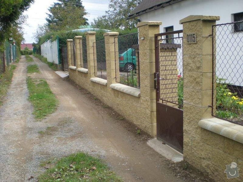 Samonosná brána, branka , 6ks plot.polí. : P9220454