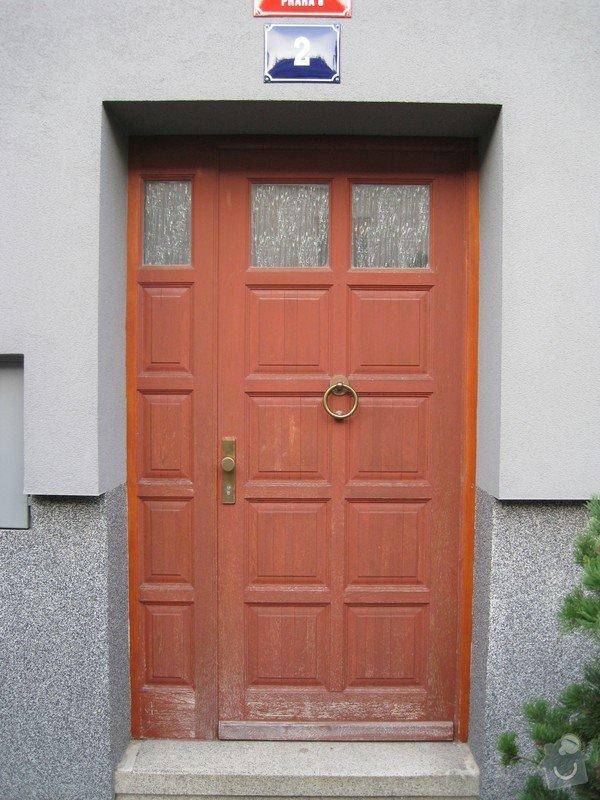 Nalakování vchodových dveří: IMG_1655
