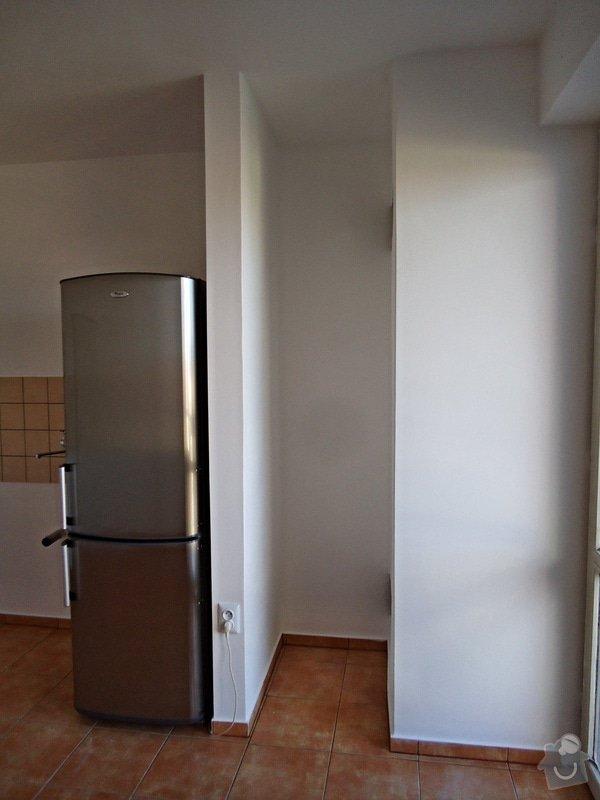 Sundat lino v kuchyni, položit dlažbu 17 m2 vymalovat kuchyň: 07