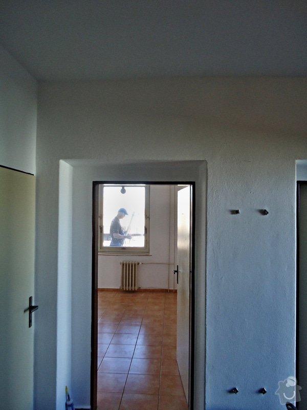 Sundat lino v kuchyni, položit dlažbu 17 m2 vymalovat kuchyň: 09