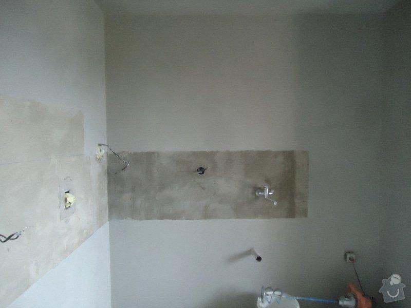 Sundat lino v kuchyni, položit dlažbu 17 m2 vymalovat kuchyň: 12