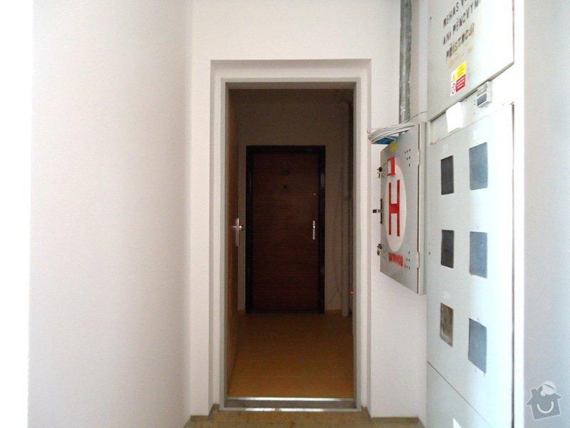Stavební úpravy (rozšíření)panelového bytu: DSC08567