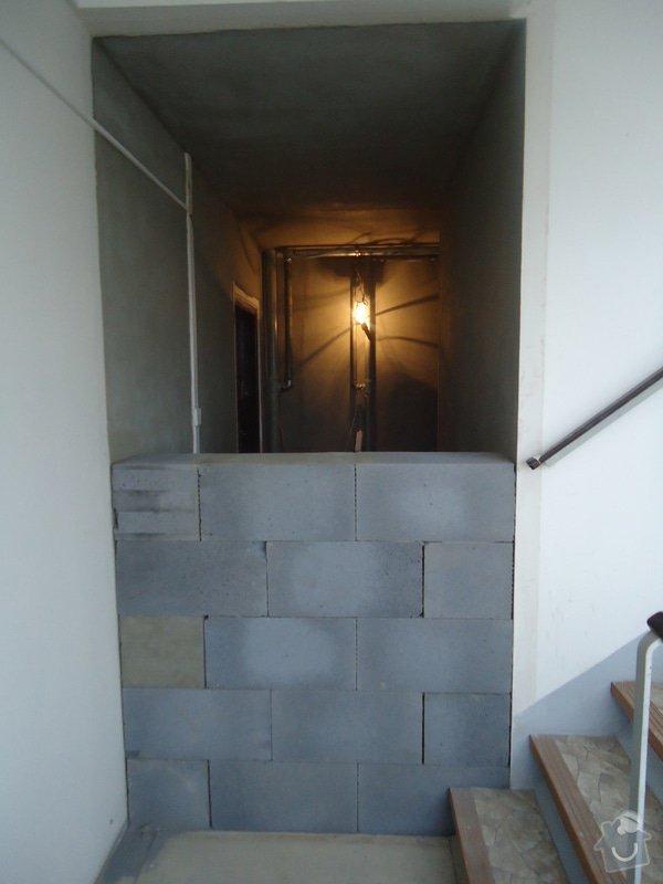 Stavební úpravy (rozšíření)panelového bytu: DSC08481