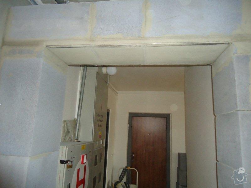 Stavební úpravy (rozšíření)panelového bytu: DSC08483