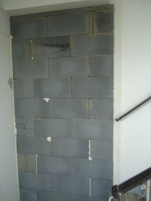 Stavební úpravy (rozšíření)panelového bytu: DSC08486