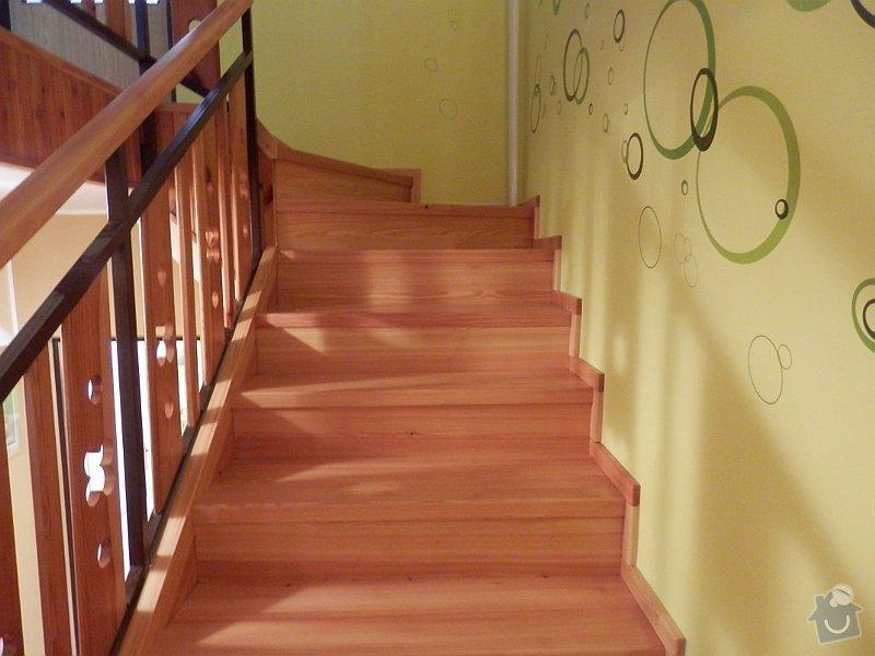 Dodávka obložení schodiště : P8301065-001