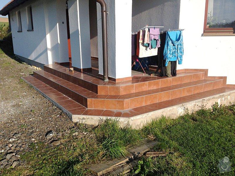 Fasáda - sokl RD, Dlažba - venkovní schody: Dlazba_01