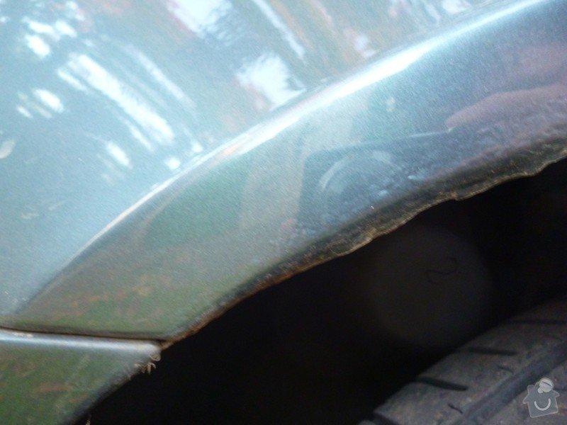 Oprava lemů blatníků Škoda Octavia II: P1020218