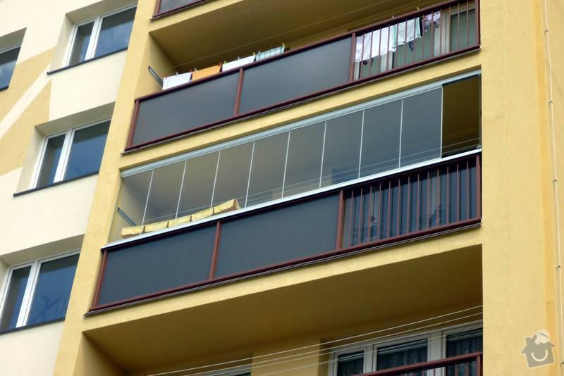 Zateplení fasády, zateplení střechy, výměna oken, hliníkové zábradlí, lodžie, vstupní portál, zasklení lodžií: 3