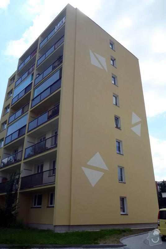 Zateplení fasády, zateplení střechy, výměna oken, hliníkové zábradlí, lodžie, vstupní portál, zasklení lodžií: 6