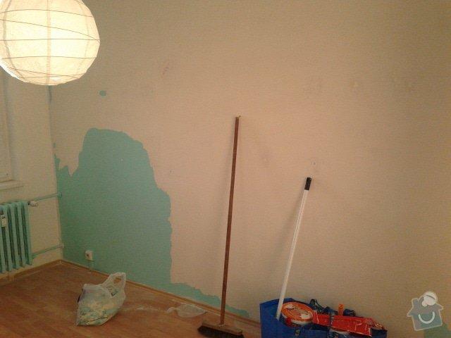 Malířské/zednické práce (půl pokoje): 20131003_175131