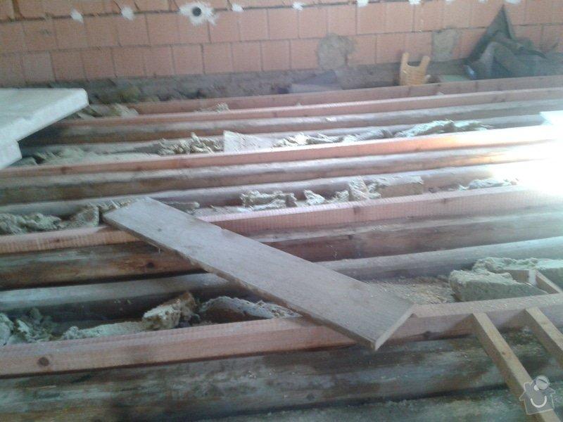 Rekonstrukce rodinného domu - podlaha v obytném podkroví: 2013-10-02_10.26.12