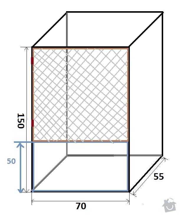 Výroba klece z OSB desek: cincila