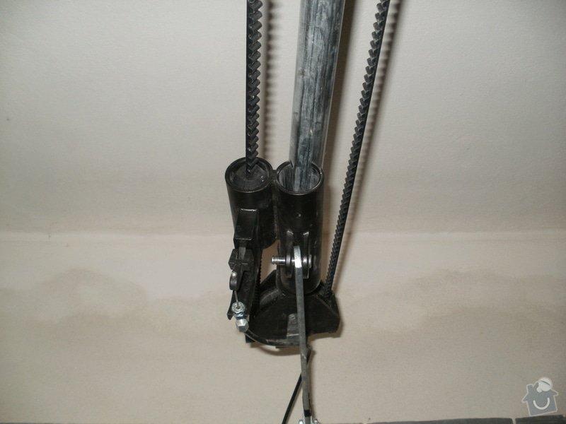 Oprava mechanismu garážových vrat: P1010764