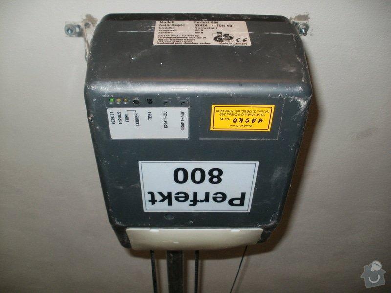 Oprava mechanismu garážových vrat: P1010765