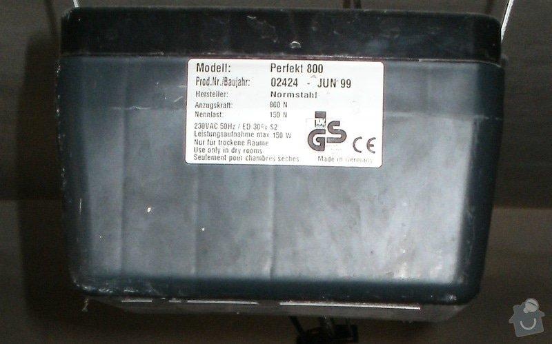 Oprava mechanismu garážových vrat: P1010768