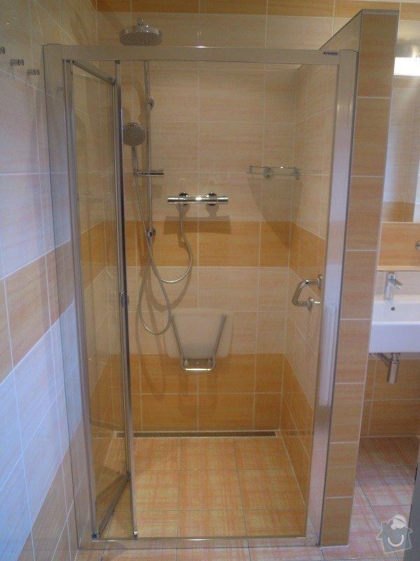 Kompletní rekonstrukce koupelny pro ZTP: 186-02