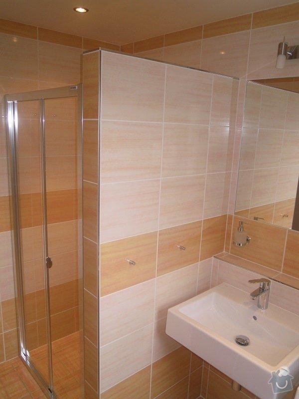 Kompletní rekonstrukce koupelny pro ZTP: 186-03