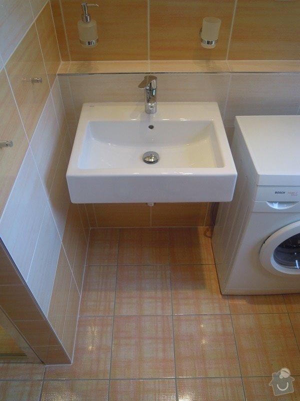 Kompletní rekonstrukce koupelny pro ZTP: 186-05