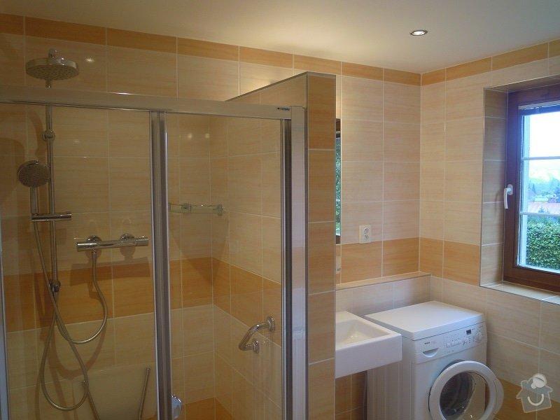 Kompletní rekonstrukce koupelny pro ZTP: 186-08