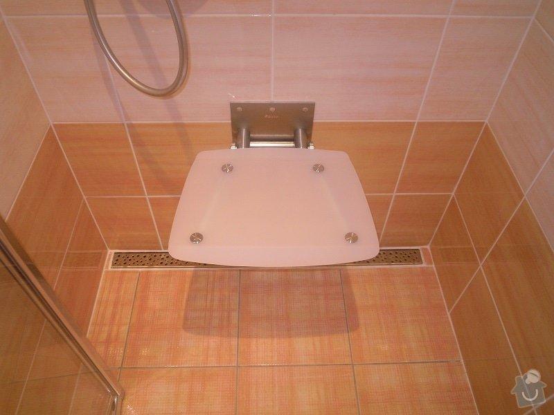 Kompletní rekonstrukce koupelny pro ZTP: 186-10
