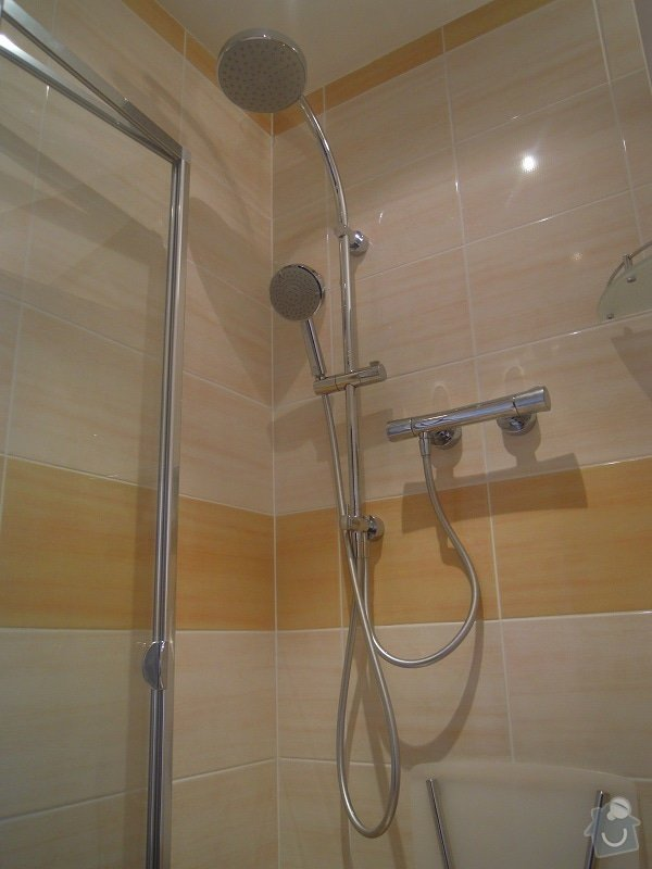 Kompletní rekonstrukce koupelny pro ZTP: 186-11