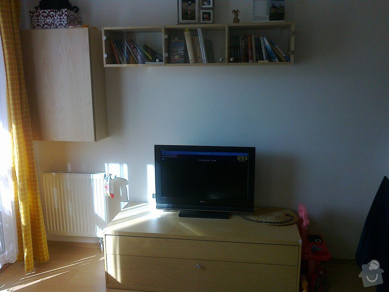 Skříňky do obývacího pokoje: fotografie0113