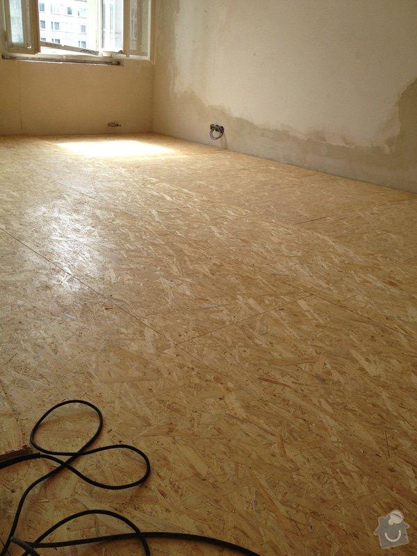 Vyrovnání podlah záklopem z OSB desek: byt-rekonstrukce-227