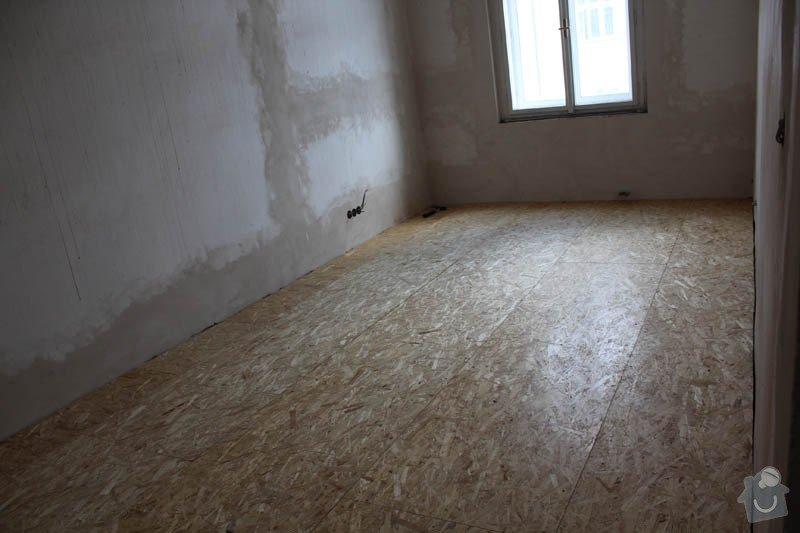 Vyrovnání podlah záklopem z OSB desek: byt-rekonstrukce-262