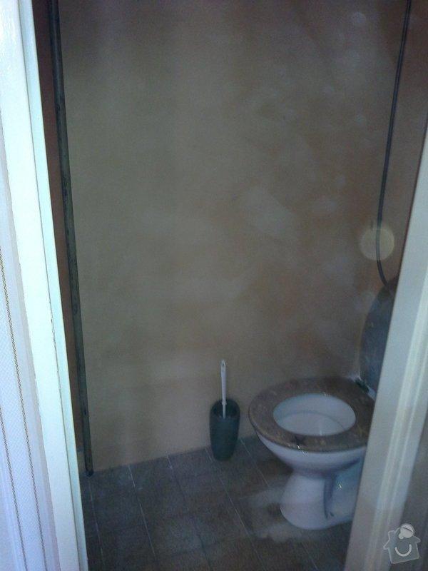 Rekonstrukce koupelny, wc a rozvod elektroinstalace pro novou kuchyňskou linku: 040920131589