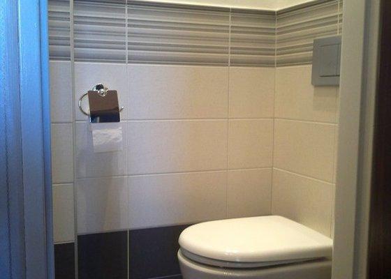 Rekonstrukce koupelny, wc a rozvod elektroinstalace pro novou kuchyňskou linku