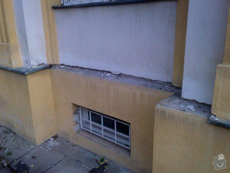 Revize a drobné opravy (utěsnění otvorů po odstranění některých prvků) opláštění měděné střechy se stářím cca 15 let: Praha-20131002-00422