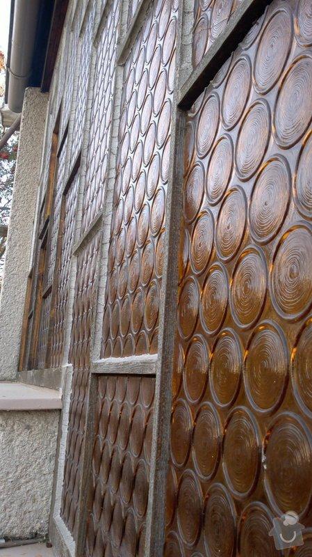 Renovace prosklené stěny zádveří: 2013-10-05-0320
