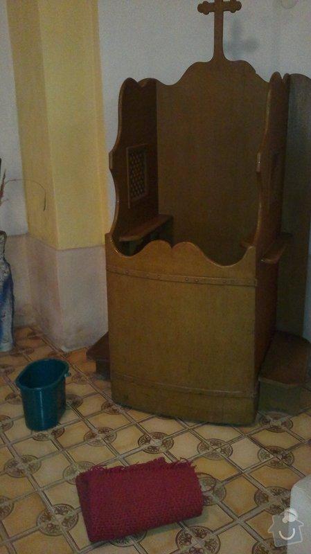 Výroba zpovědnice do kostela: 03122011325