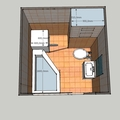 Rekonstrukce koupelny v panelovem dome koupelnadoma8