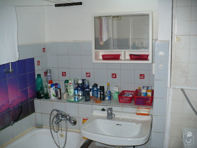 Rekonstrukce koupelny v panelovém domě: P1030677