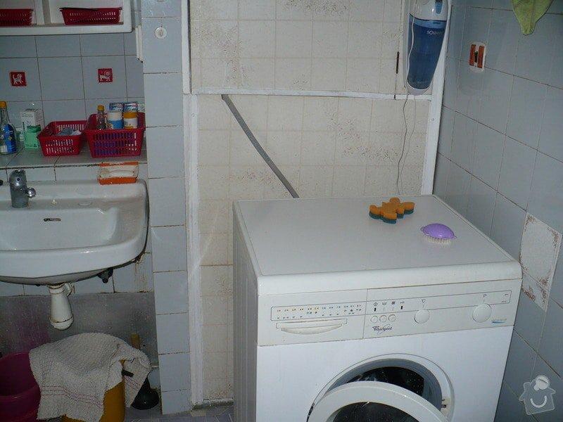 Rekonstrukce koupelny v panelovém domě: P1030679