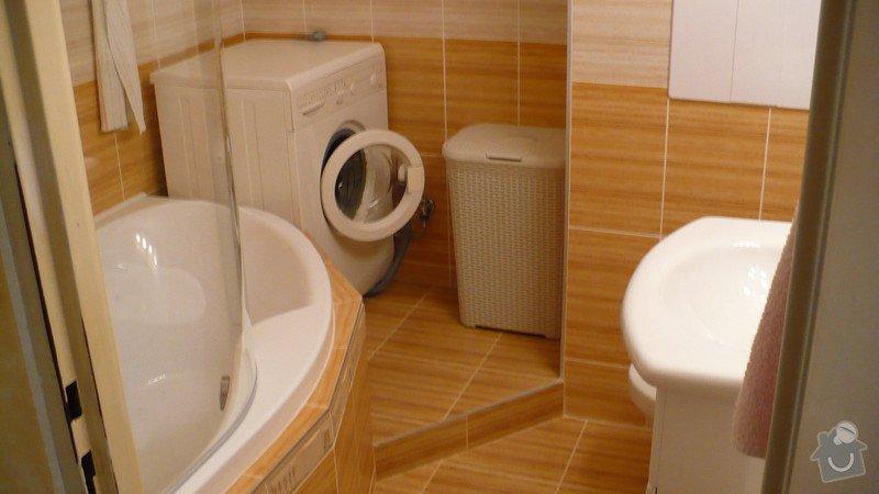 Rekonstrukce koupelny v panelovém domě: P1040087
